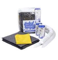 Oil Selective Clear Zippered Bag