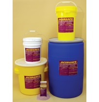 Battery Wash Acid Neutralizing and Indicating Spray - ACIDSAFE (Liquid Bulk - 5 Gal Cube)