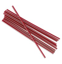 "STRAWS STRAWS - Unwrapped Stir-Straws, 5 1/4"", Polypropylene, Red, 1000/BoxBoardwalk  Unwrapped Stir"