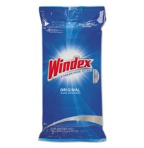 Windex - Windex  Glass & Surface  Wet Wipe Cloth,   28 ct. wipes -12 per pack, CLOTH, 7 X 10 Wipes
