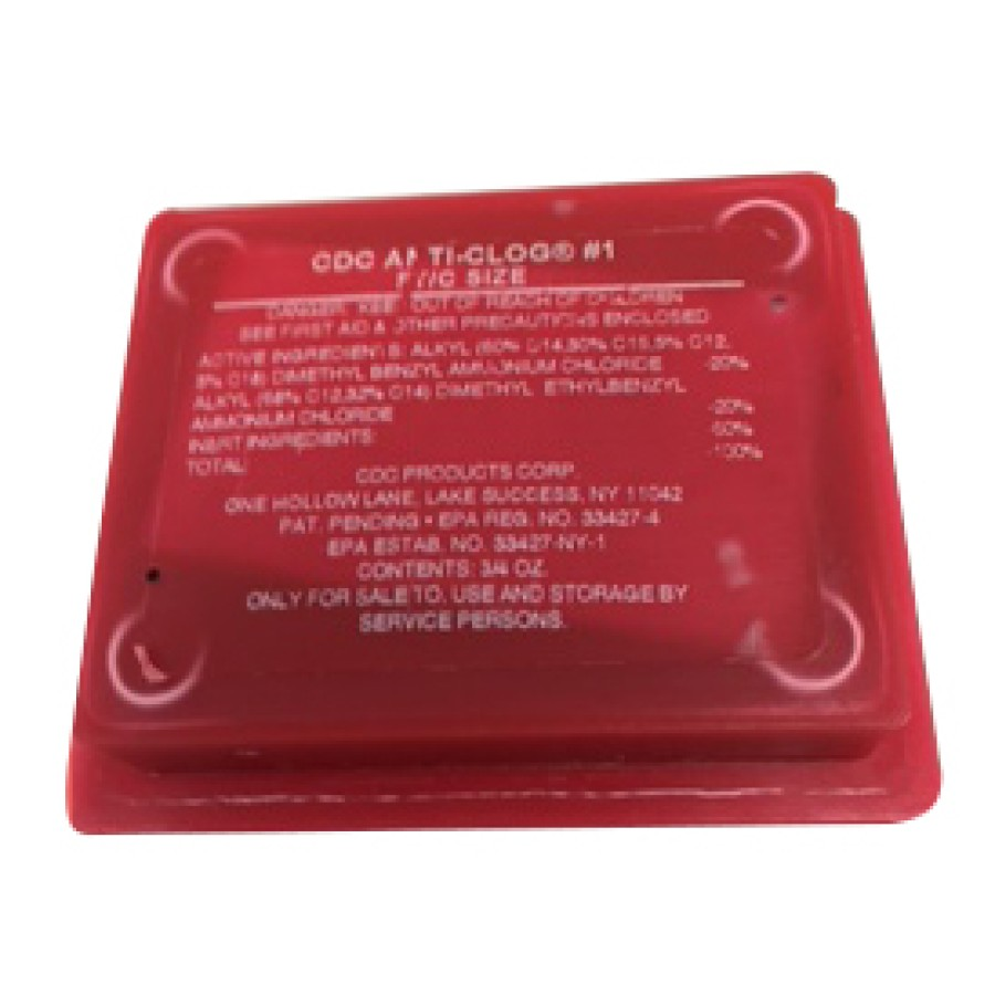 Drain Pan Treatment - CDC Anti Clog (12 Tablets/Case)