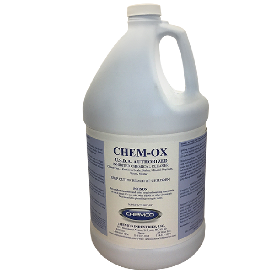 Concrete Cleaner Stainless Steel Cleaner Chem Ox