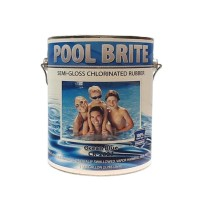 Pool Brite - Chlorinated & Rubberized Swimming Pool Paint (Multiple Packaging Options)