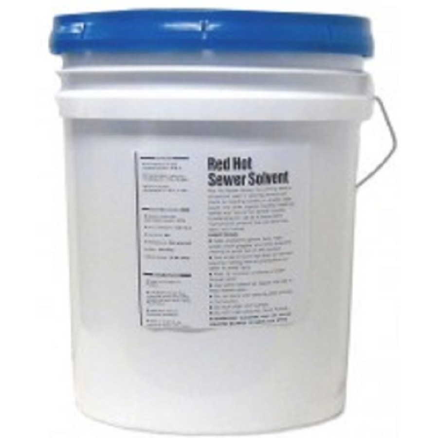 Sewer Line Cleaner - ABC Red Hot (25 Lb Pail)