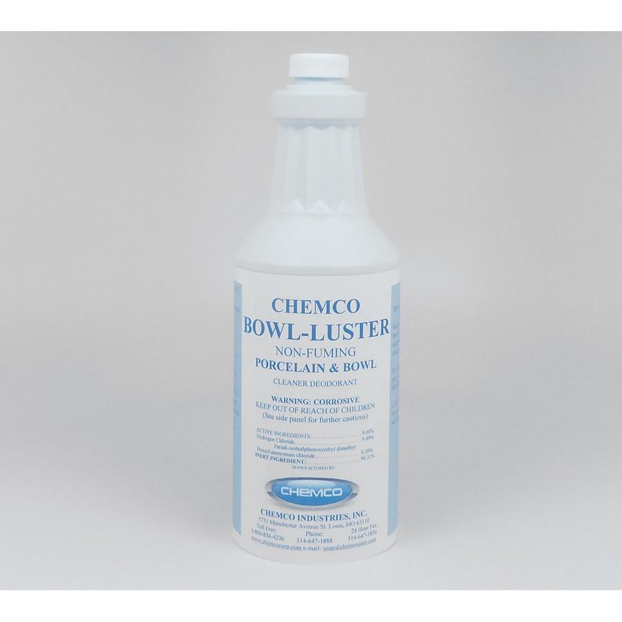 Acid Toilet Bowl Cleaner - Bowl Luster (Dozen)