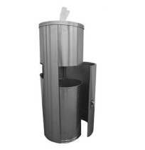Wipes Dispenser Stand - Stainless Steel Dispenser Stand (Each)