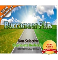 Glyphosate Herbicide - Buccaneer Plus (Gallon Concentrate 1:100)(Multiple size/Packaging Options)