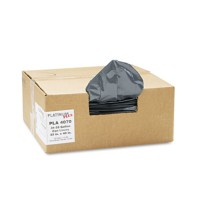 GARBAGE BAG GARBAGE BAG - Can Liner, Super Hexene Resin 31-33 gal, 1.35 mil, 33 x 40, 100/CartonPlat