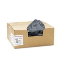 GARBAGE BAG GARBAGE BAG - Can Liner, Super Hexene Resin 31-33 gal, 1.35 mil, 33 x 40, 100/CartonPlat