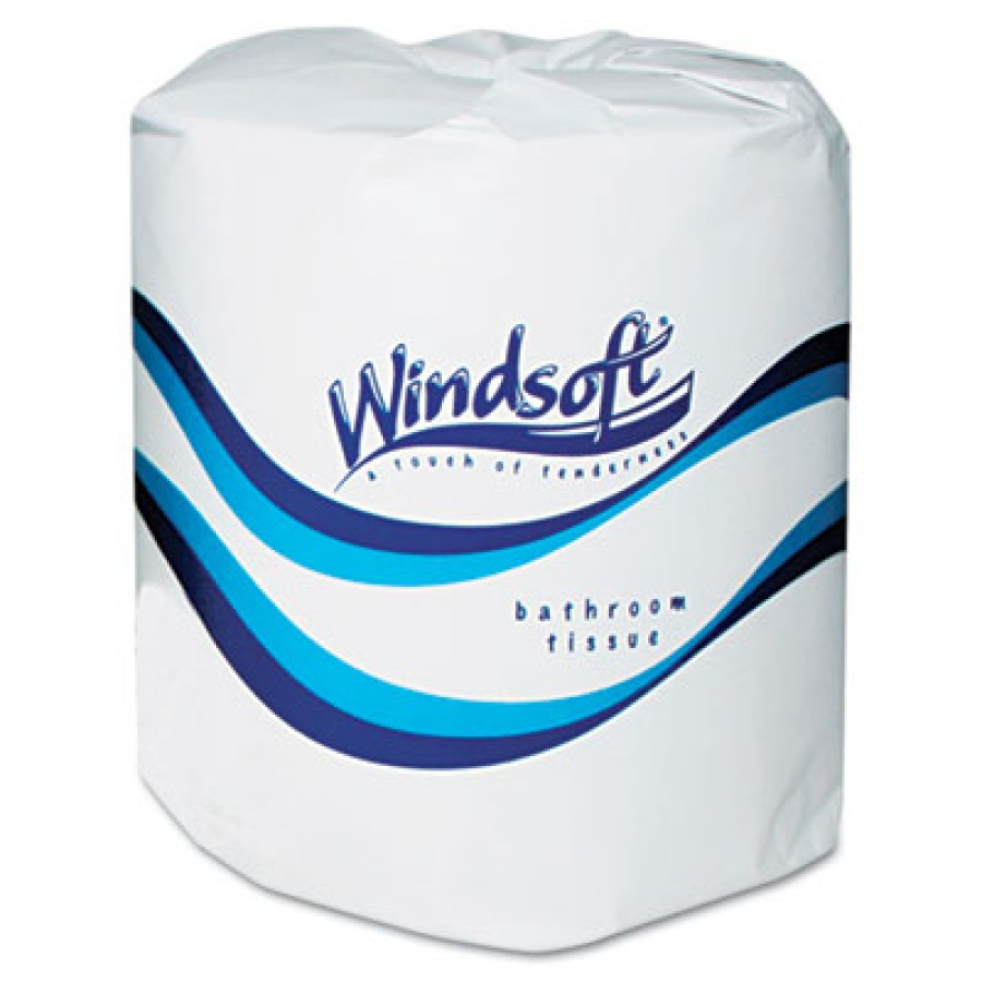 TOILET PAPER TOILET PAPER - Facial Quality Toilet Tissue, 2-Ply, Single RollWindsoft  Facial Quality
