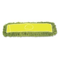DUST MOP DUST MOP - Echo Dust Mop, Synthetic/Cotton, 24w x 5d, GreenUNISAN Echo Dust Mop HeadC-24X5