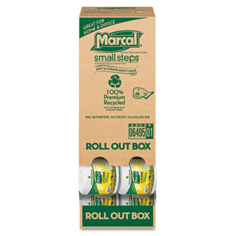 TOILET PAPER TOILET PAPER - Recycled Roll-out Convenience Pack Bathroom TissuePremium bathroom tissu