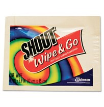 Stain Remover Stain Remover - Shout  Wipe & Go Instant Stain RemoverCLNR,SHOUTWIPESWipe & Go Instant