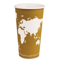 PAPER CUP | PAPER CUP | 1000/CS - C-20 OZ WORLD ART ECO HO CUP 1000/CA