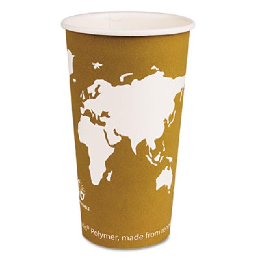 PAPER CUP | PAPER CUP | 1000/CS - C-20 OZ WORLD ART ECO HO CUP 1000/CA