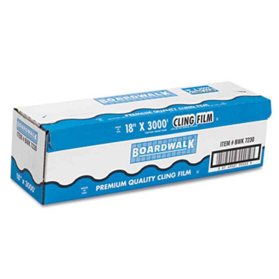 Saran Wrap Saran Wrap - Boardwalk  PVC Food Wrap FilmPVC FOOD FLM,18X3000',CLRPVC Food Wrap Film Rol