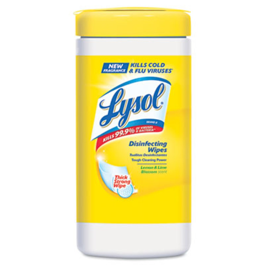 DISINFECTANT WIPES | DISINFECTANT WIPES - C-LYSOL DISINF WIPE 80CT  LM
