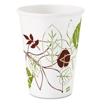 PAPER CUPS PAPER CUPS - Pathways Polycoated Paper Cold Cups, 12 ozDixie  Pathways  Polycoated Paper