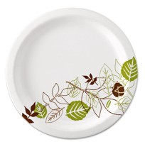 PAPER PLATE | PAPER PLATE | 500/CS - C-ULTRALUX PPR PLT 8.5IN  PATHWAY