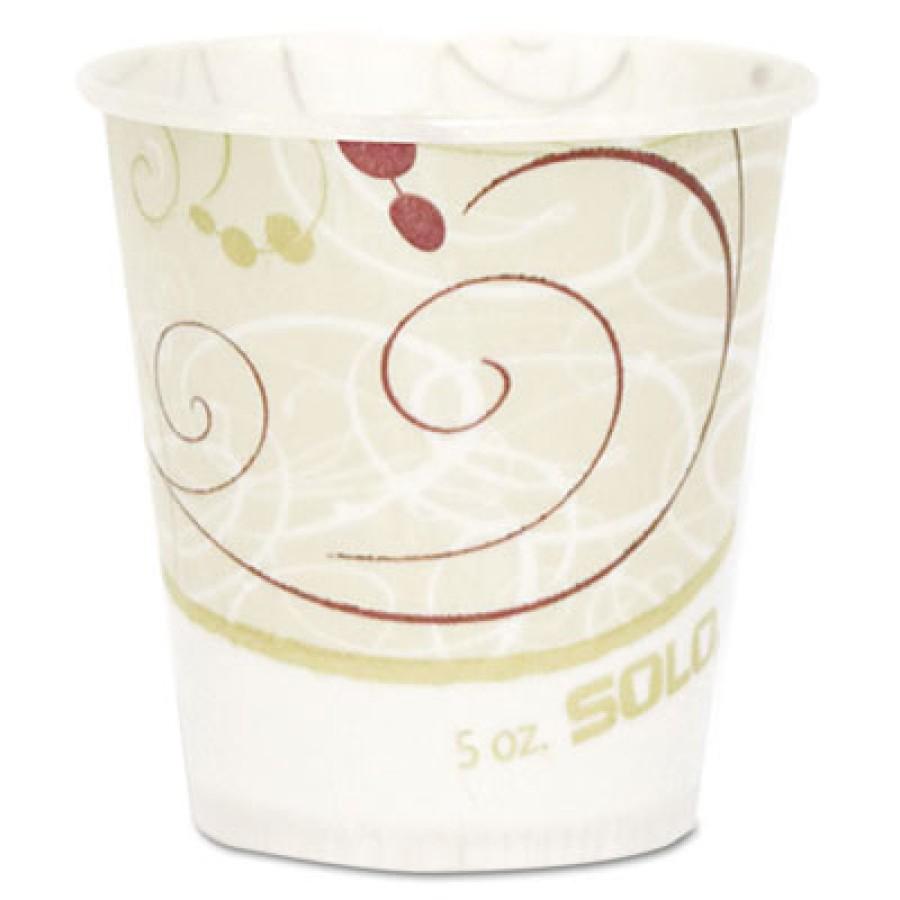 PAPER CUP | PAPER CUP | 3000/CS - C-PPR CUP 5OZ WXD SYMPH  30/100CUP,H