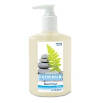 HAND SOAP HAND SOAP - Liquid Hand Soap, Floral, 8 oz Pump BottleBoardwalk  Liquid Hand SoapC-BOARDWA