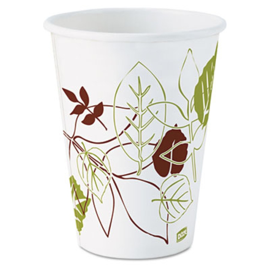 PAPER CUPS PAPER CUPS - Pathways Paper Hot Cups, 12 ozDixie  Pathways  Paper Hot CupsC-PPR HOT CUP 1