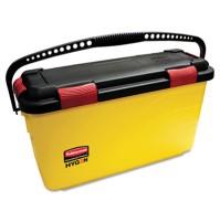 MICROFIBER MOP BUCKET MICROFIBER MOP BUCKET - HYGEN Charging Bucket, YellowRubbermaid  Commercial HY