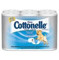 TOILET PAPER TOILET PAPER - KLEENEX COTTONELLE Ultra Soft Bath Tissue, 1-PlyKIMBERLY-CLARK PROFESSIO