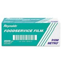 "Saran Wrap Saran Wrap - Reynolds Wrap  Metro  Light-Duty Film with Cutter BoxWRP,PLSTC,12""X2000',SVM"