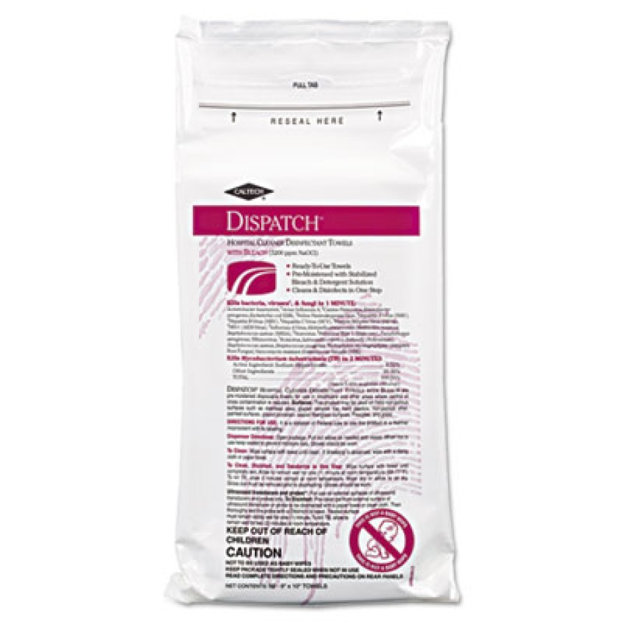 DISINFECTANT WIPES | DISINFECTANT WIPES - C-CALTECH DISPATCH PRO D INF