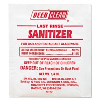 GLASS CLEANER   GLASS CLEANER   100 PP - C-BEER/CLN SANITIZER 100    P