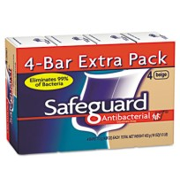 Bar Soap Bar Soap - Safeguard  Deodorant SoapSOAP,SAFEGUARD,BAR,4OZAntibacterial Bath Bar Soap, Beig