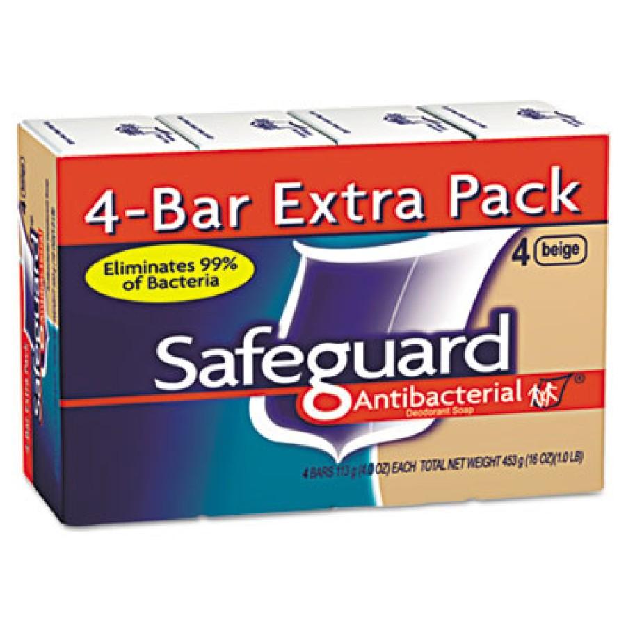 Bar Soap Bar Soap - Safeguard  Deodorant SoapSOAP,SAFEGUARD,BAR,4OZAntibacterial Bath Bar Soap, Beig