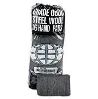 Steel Wool Pad Steel Wool Pad - GMT Industrial-Quality Steel Wool Hand PadsSTL WOOL PAD,#0000,SUPERI