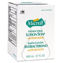 Hand Soap Hand Soap - GOJO  MICRELL  Antibacterial Lotion Soap RefillSOAP,MICRELL ANTIBC,800MLAntiba