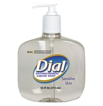 HAND SOAP HAND SOAP - Antimicrobial Soap for Sensitive Skin, 16 oz PumpLiquid Dial  Antimicrobial So