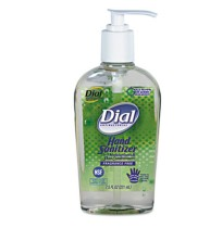 Hand Sanitizer Hand Sanitizer - Dial  Antibacterial Gel Sanitizer with MoisturizerSANITZR,HND,W/MOIS