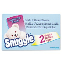 Dryer Sheet Dryer Sheet - Snuggle  Vending-Design Fabric Softener SheetsSFTNR SHEETS,FABRIC,VENDVend