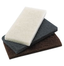Scouring Pad Scouring Pad - Premiere Pads Heavy-Duty Scour PadHEAVY-DUTY PAD,4X10,BROWNHeavy-Duty Br