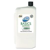 HAND SOAP HAND SOAP - Basics Hypoallergenic Liquid Soap, White Pearl, Honeysuckle, 1 Liter RefillDia