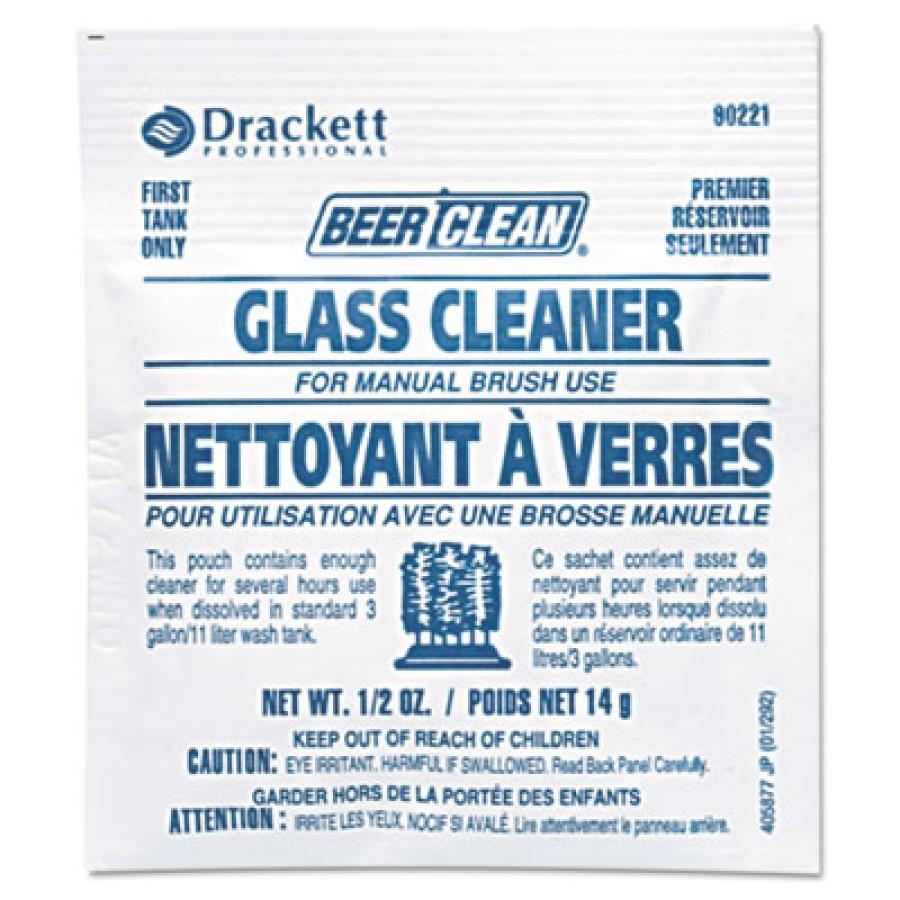 GLASS CLEANER | GLASS CLEANER | 100 PP - C-BEER/CLN GLASS CLEANE MANUA