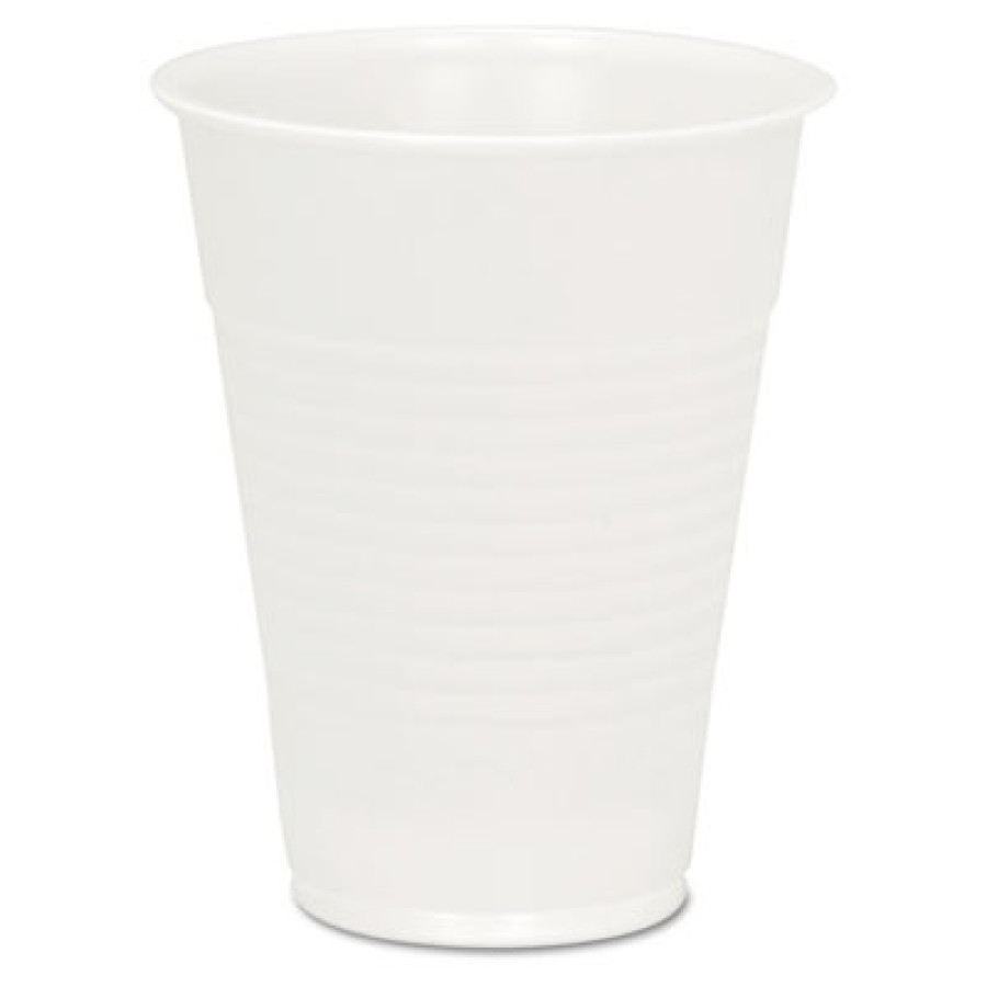 PLASTIC CUPS PLASTIC CUPS - Clear Plastic PETE Cups, 10 oz., 45/BagBoardwalk  Clear Plastic PETE Cup