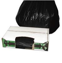 GARBAGE BAG GARBAGE BAG - Linear Low-Density Ecosac, 33 x 39, 33-Gallon, 1.5 Mil, Black, 150/CaseEss
