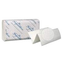 Paper Towel Paper Towel - Signature  Two-Ply Folded Paper TowelsTWL,M-FLD,2PLY,WHI,125/PKTwo-Ply Pre