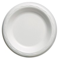 FOAM PLATES FOAM PLATES - Elite Laminated Foam Plates, 6 Inches, White, Round, 125/PackGenpak  Elite