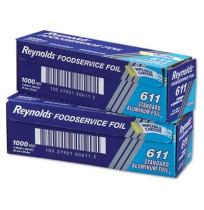 Aluminum Foil Aluminum Foil - Reynolds Wrap  Aluminum FoilFOIL RL,12X1000',STD,SLVStandard Aluminum