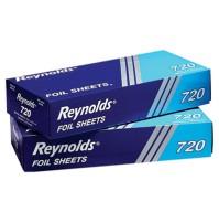 Aluminum Foil Aluminum Foil - Reynolds Wrap  Interfolded Aluminum Foil SheetsFOIL SHTS,12X10.75,SLVP