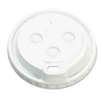 HOT CUP LIDS HOT CUP LIDS - Hot Cup Dome Lids, 10-20oz, WhiteBoardwalk  Hot Cup Dome LidsC-DOME PLAS