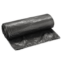 GARBAGE BAGS GARBAGE BAGS - Light-Grade Can Liners, 24 x 32, 16-Gallon, .35 Mil, Black, 25/RollBoard