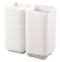 Hoagie Container Hoagie Container - Boardwalk  Snap-it Foam Hinged Lid Carryout ContainersFOAM CNTNR